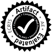 ECRTS artifact evaluation badge